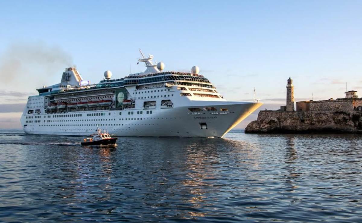 Histórica llegada a Cuba de un crucero de Royal Caribbean (+FOTOS)