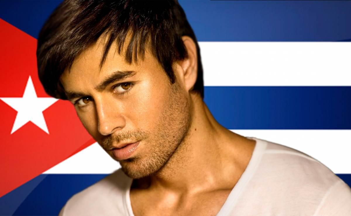 Enrique Iglesias termina video en Cuba y quiere realizar concierto