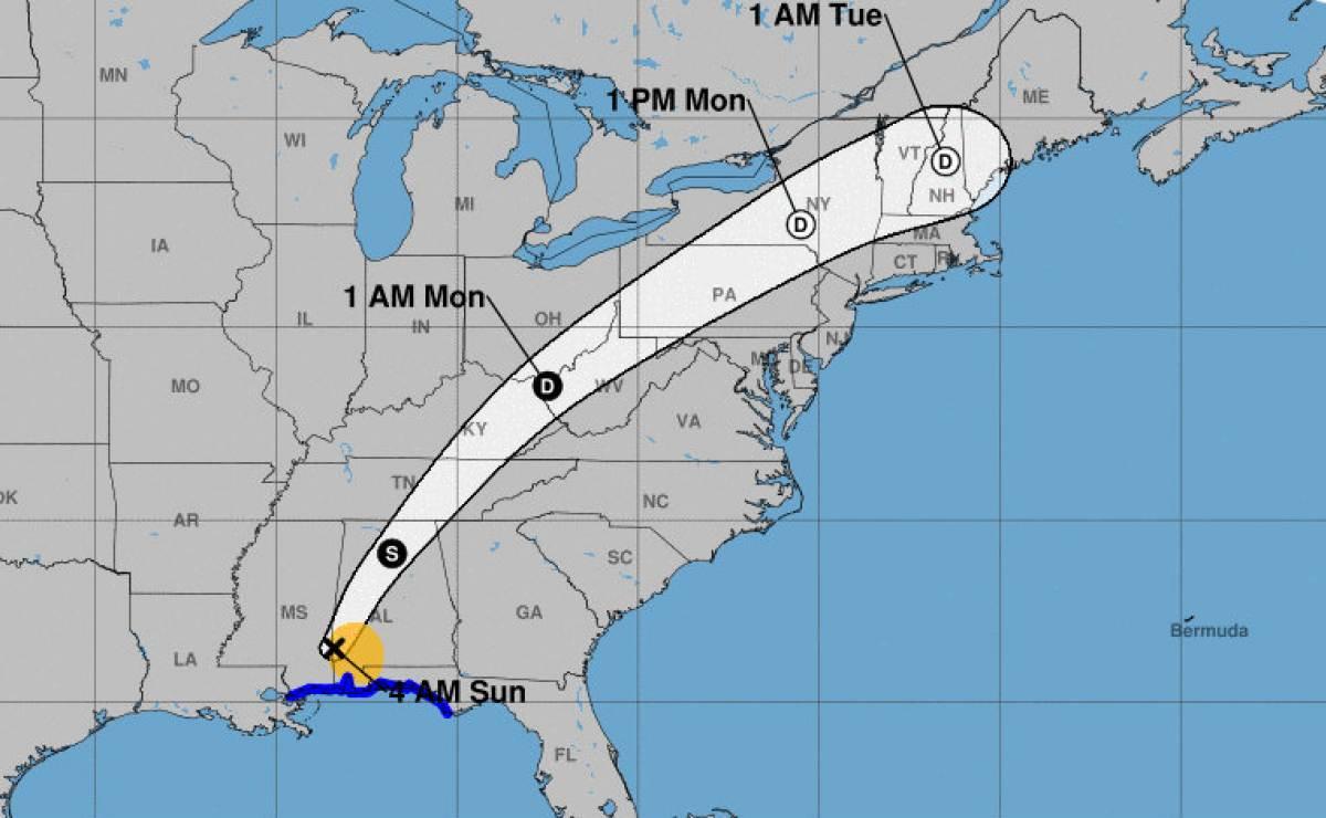 El huracán Nate toca tierra en EE.UU. tras dejar al menos 30 muertos en Centroamérica