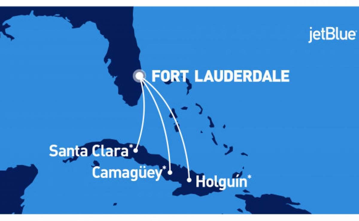 Jetblue: ¡El 31 de Agosto comenzamos a volar a Cuba y a $210.00 ida y vuelta!