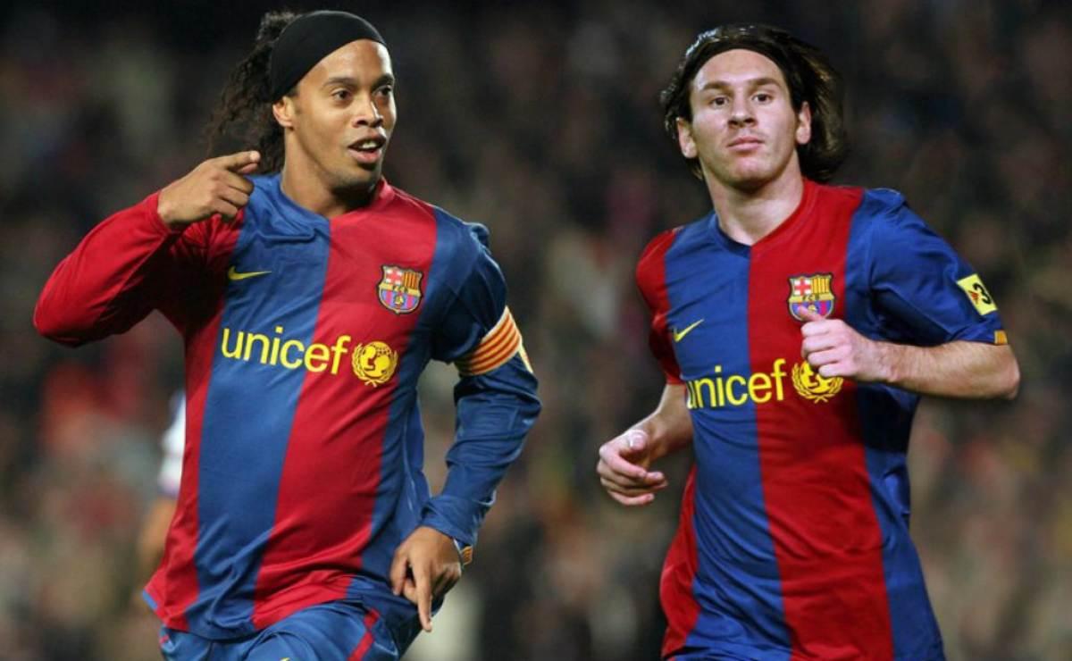 Barcelona se despidió de Ronaldinho tras conocer su adiós oficial del fútbol