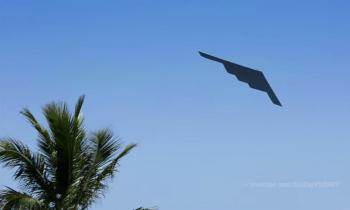 Aviones de guerra sobrevolaron Miami Beach este fin de semana por el Memorial Day