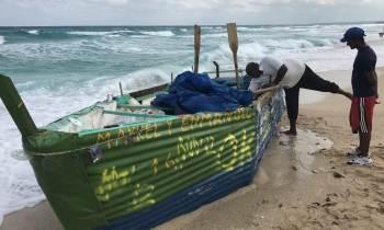 El número de inmigrantes cubanos interceptados en el mar durante este último año cayó un 71%
