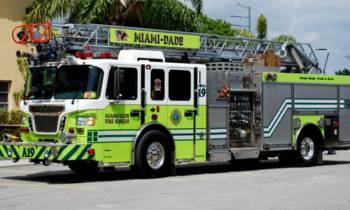 Un hombre en Miami confunde a bomberos con ladrones y les dispara