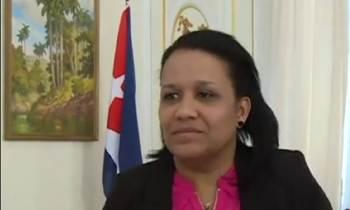 Anayansi Rodríguez entrega cartas credenciales como embajadora cubana ante la ONU
