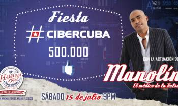 ¡Sorpresa! CiberCuba celebra los 500 mil fans con una gran fiesta en Miami