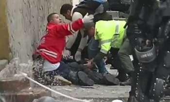Colombia: Así fue el atentado en el centro de Bogotá que dejó decenas de heridos