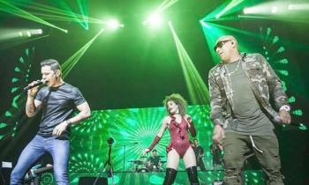 Concierto de Leoni Torres en Miami, con Gente de Zona y Diván