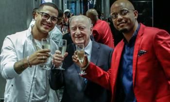 Yomil y el Dany inauguran boutique en el Gran Hotel Manzana Kempinski de La Habana junto a Giorgio Gucci