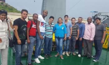 Atraca en Antigua y Barbuda un buque mercante cubano con más de 40 toneladas de ayuda para damnificados