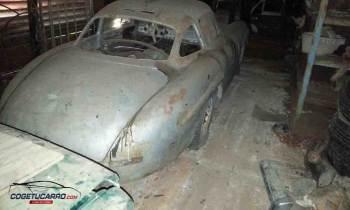 Encuentran en Cuba valioso Mercedes-Benz 300 SL