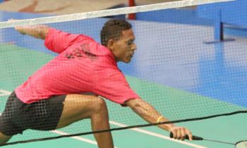 Badmintonista Osleni Guerrero debuta con victoria en torneo Giraldilla de La Habana