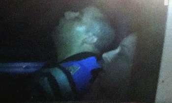 Policías de Miami Beach duermen en el carro patrulla