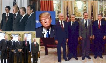 Índice de aprobación de Donald Trump baja considerablemente