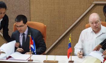 Cuba y Venezuela firman más de veinte nuevos proyectos de cooperación para 2018