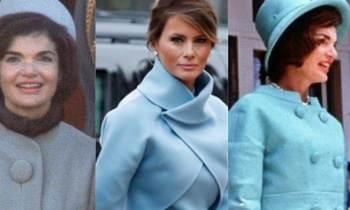 Melania Trump elige para la toma de posesión un vestido al estilo Jackie Kennedy