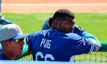 Yasiel Puig mantendrá su contrato con los Dodgers de Los Ángeles
