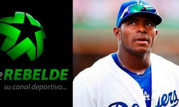 TV cubana transmite juego de los Dodgers y Yasiel Puig es visto en toda la Isla