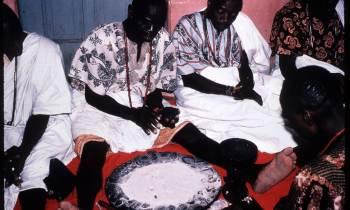 El Babalawo y el Ifá en la religión yoruba de Cuba.
