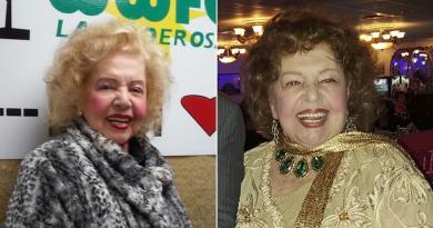 La destacada actriz, locutora y declamadora integró en Cuba elelenco de la radionovelaEl derecho de nacer, en 1948, y