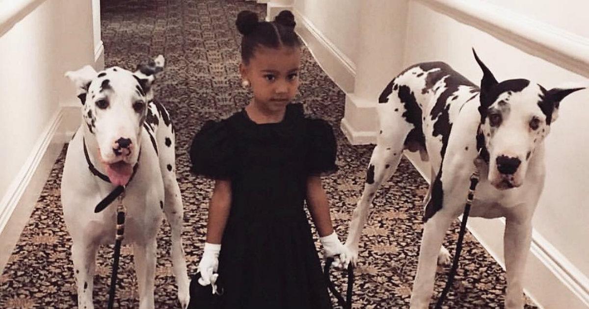 65cace97b El vídeo viral de la hija mayor de Kim Kardashian y Kanye West