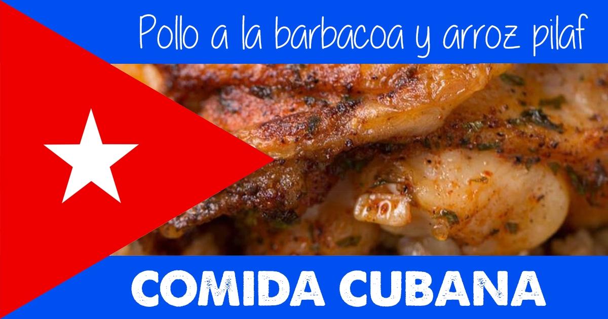 Cómo Hacer Un Delicioso Pollo A La Barbacoa Con Arroz Pilaf