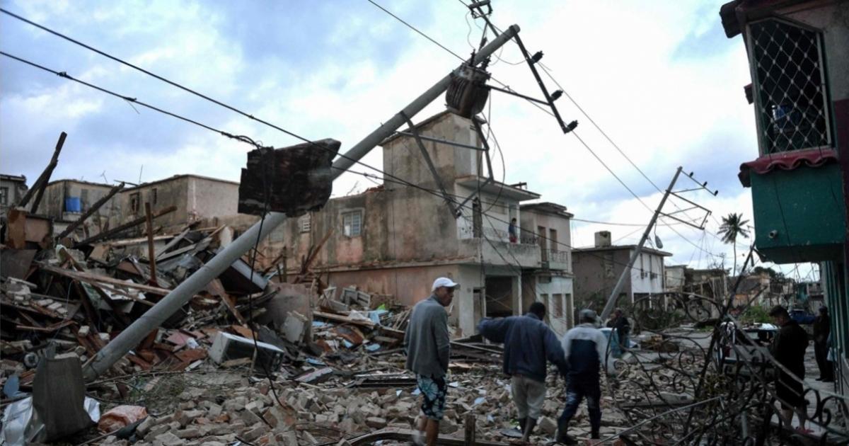 Tornado-Opfer in Havanna stirbt durch Starkstrom | Quelle: cibercuba.com | Bilder sind in der Regel urheberrechtlich geschützt