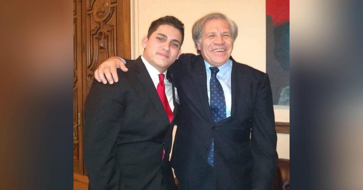 """Luis Almagro: """"A pesar de estas décadas de opresión, la juventud ..."""