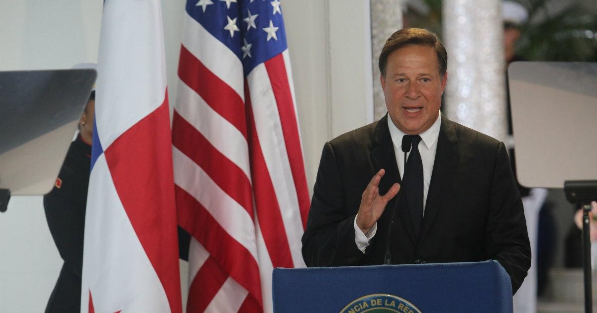 Juan Carlos Varela, presidente de Panamá: