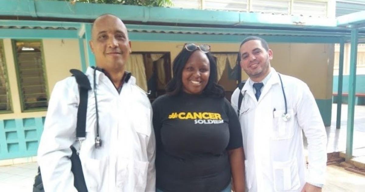 In Kenia entführte kubanische Mediziner | Bildquelle: www.cibercuba.com © Twitter / CaribbeanNewsNetwork | Bilder sind in der Regel urheberrechtlich geschützt