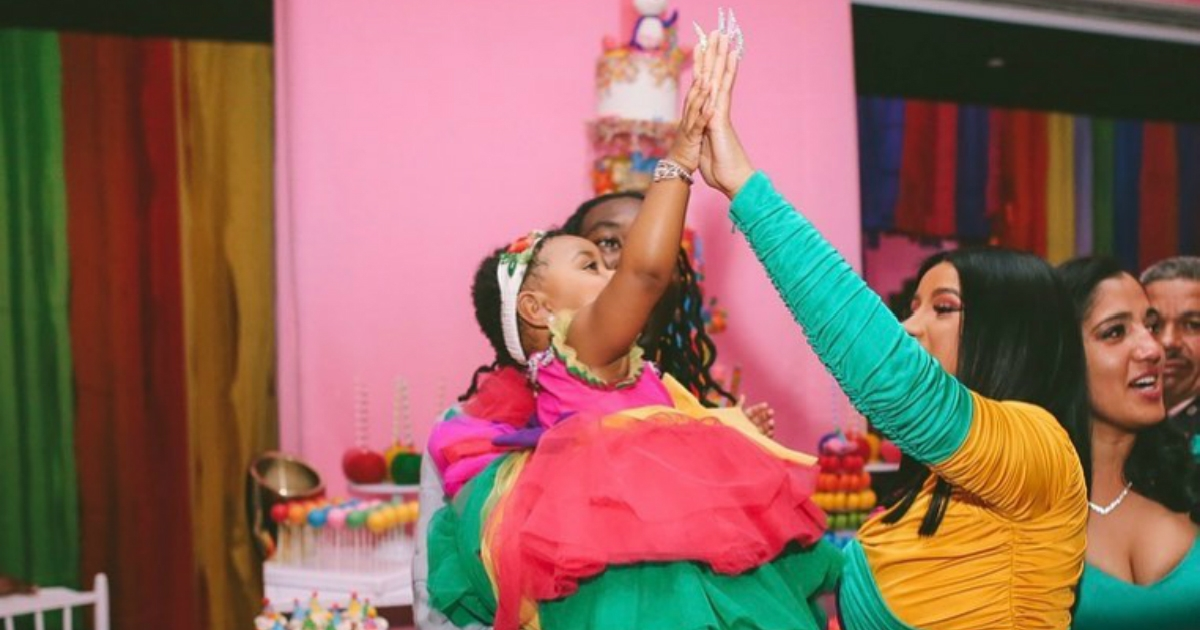 Así fue la lujosa fiesta de cumpleaños de Kulture, hija de