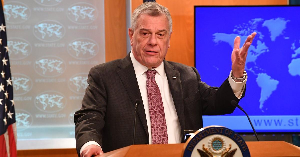 Michael Kozak, Stellvertretender Staatsekretär für Lateinamerika | Bildquelle: https://www.cibercuba.com/noticias/2019-12-30-u1-e20037-s27061-eeuu-gobierno-cubano-sabe-uso-2-monedas-oficiales-no-sostenible © Twitter / @WHAAsstSecty | Bilder sind in der Regel urheberrechtlich geschützt