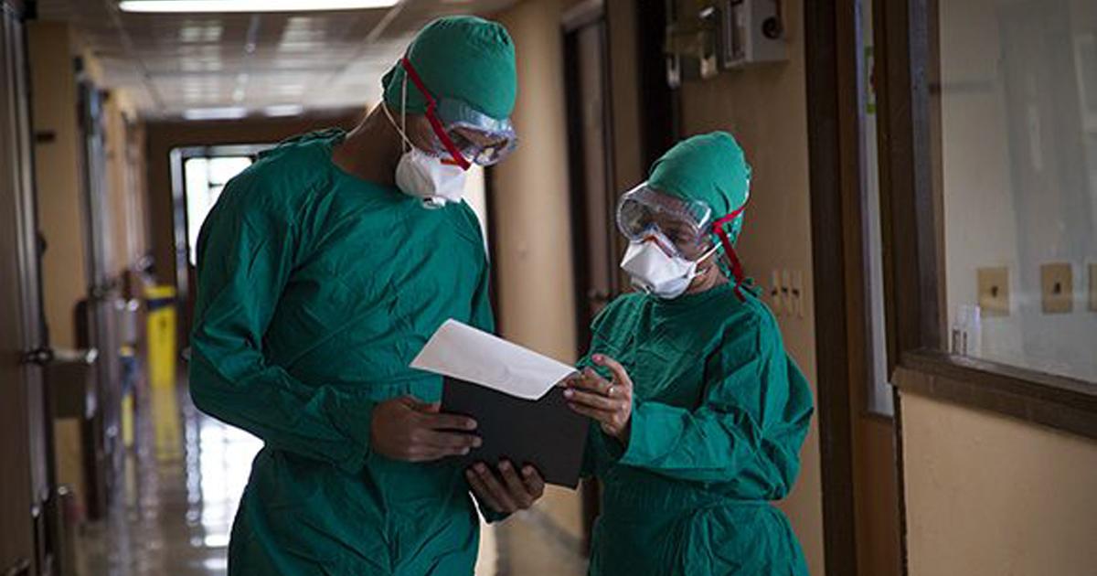Kubanische medizinische Einrichtung für die Behandlung von COVID-19 | Bildquelle: https://www.cibercuba.com/noticias/2020-03-15-u1-e199572-s27061-cuba-eleva-259-pacientes-ingresados-sospechas-coronavirus-no © Irene Perez / Cubadebate | Bilder sind in der Regel urheberrechtlich geschützt