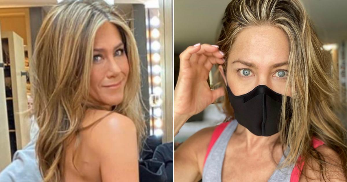 El aplaudido alegato de Jennifer Aniston a favor de las mascarillas