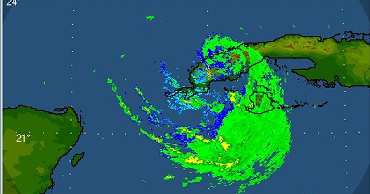 Imagen del radar / Insmet