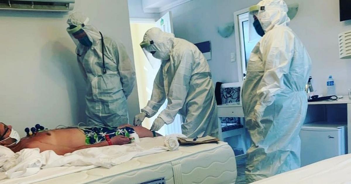 Infizierter russischer Tourist in Cayo Coco | Bildquelle: https://t1p.de/oijf © Instagram / tatyana.konkova | Bilder sind in der Regel urheberrechtlich geschützt