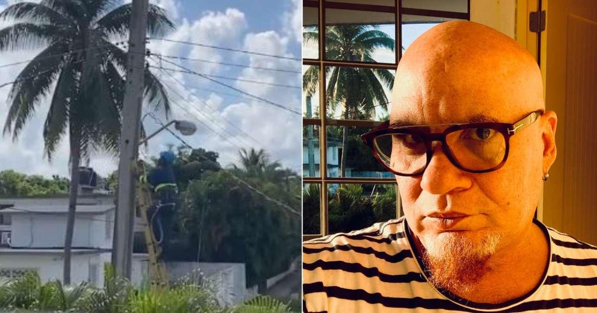 Cortan la luz a músico Kelvis Ochoa por cuarta vez en el año: 'A alguien le estoy molestando'