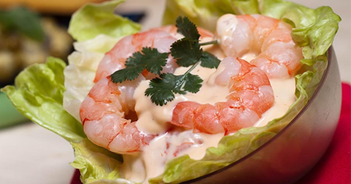 Receta de cocktail de camarones cibercuba cocina - Coctel de marisco ingredientes ...